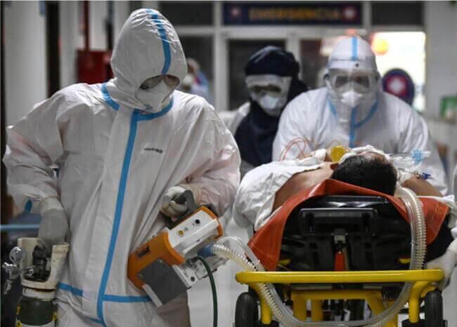 372305_Paciente_coronavirus // Foto: Referencia AFP