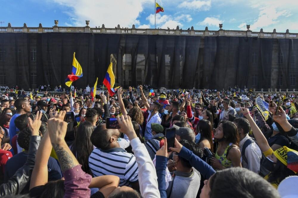 Protestas del paro nacional