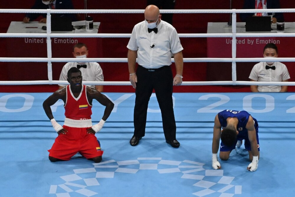 Jueces de la pelea de Yuberjen Martínez
