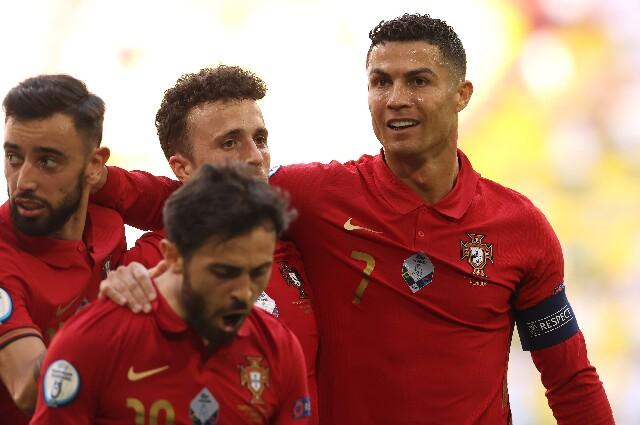 Cristiano Ronaldo, en la Eurocopa