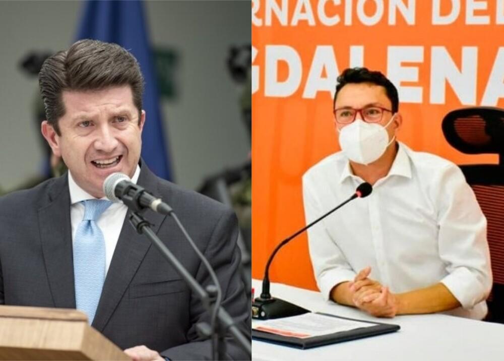 368081_Carlos Caicedo, gobernador del Magdalena. Foto: Twitter @carlosecaicedo