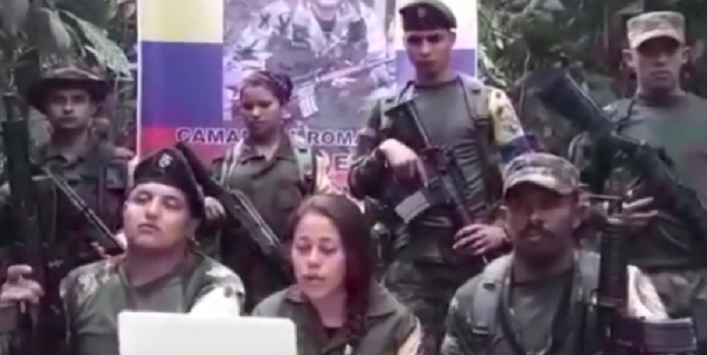 345106_BLU Radio. Disidentes de Farc en Antioquia / Foto: Captura de video