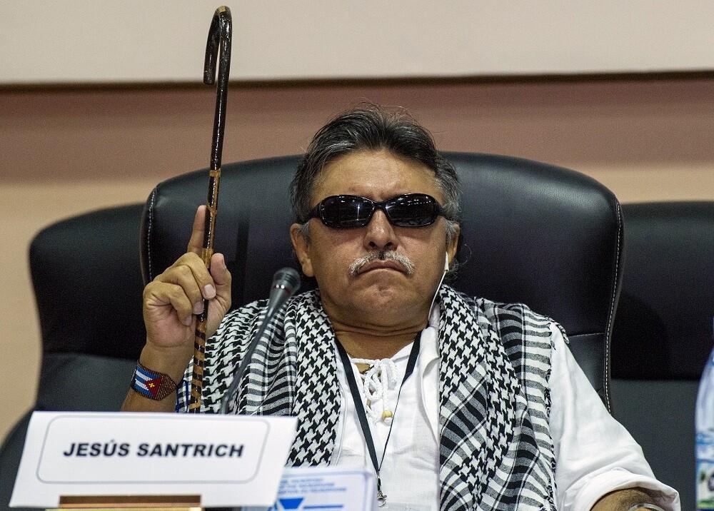 303904_BLU Radio. Jesús Santrich / Foto: AFP.