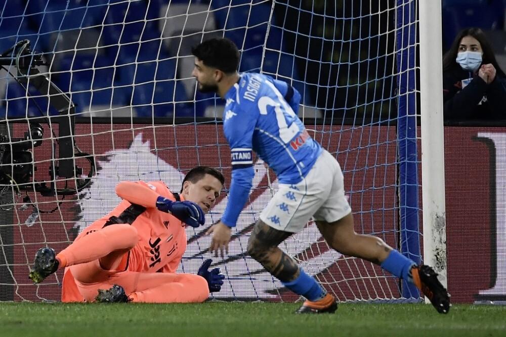Gol Lorenzo Insigne Napoli vs Juventus