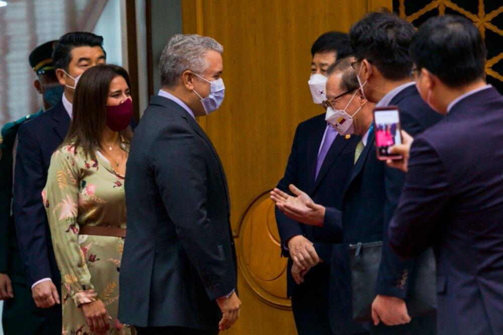 Iván Duque en visita de Estado en Corea del Sur
