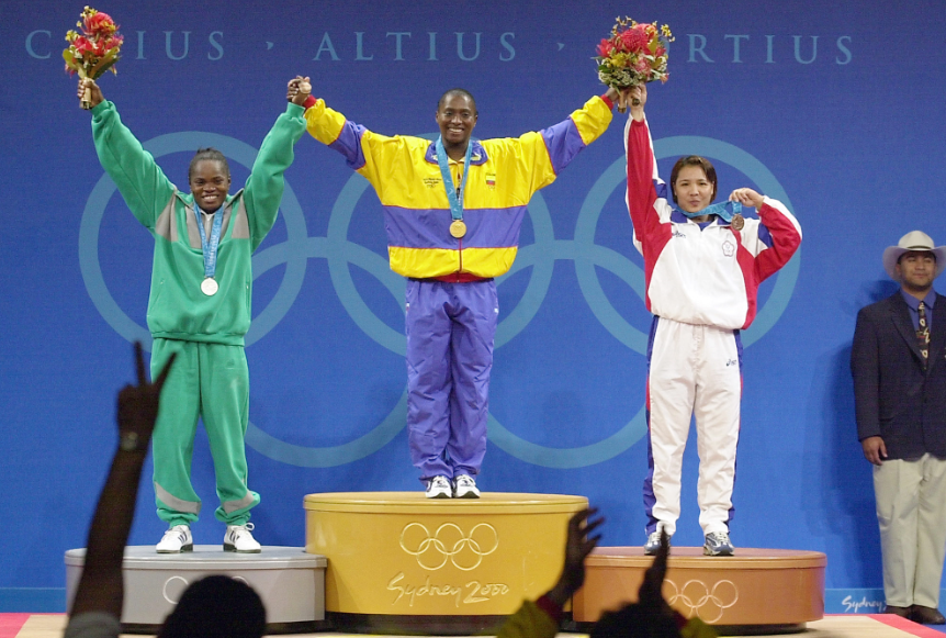 Maria Isabel Urrutia fue medallista de oro en Sídney 2000.