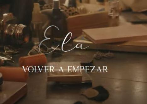 'Volver a Empezar, la nueva canción de Ela.JPG