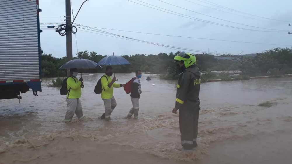 Inundaciones en Cartagena / Foto cortesía