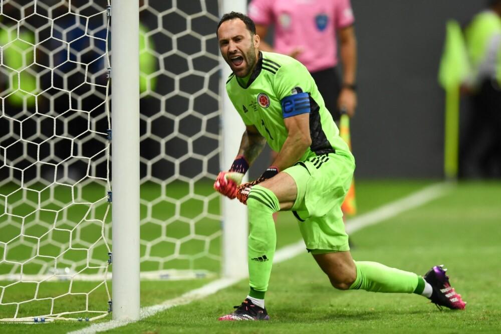 David Ospina, jugador de la Selección Colombia. AFP.jpeg