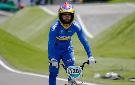 Vincent Pelluard clasificó a la semifinal del BMX de los Juegos Olímpicos de Tokio 2020.