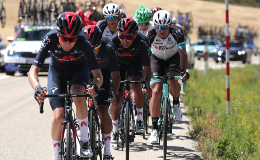 Egan Bernal y Daniel Martínez siguen compitiendo en la Vuelta a Burgos