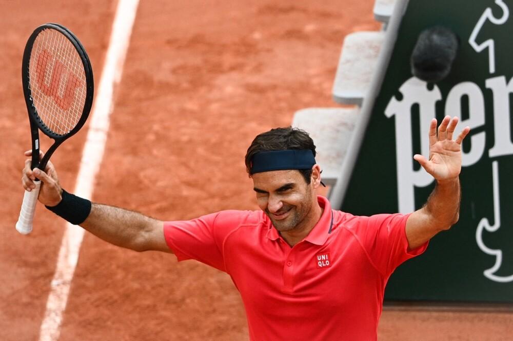 Roger Federer AFP.