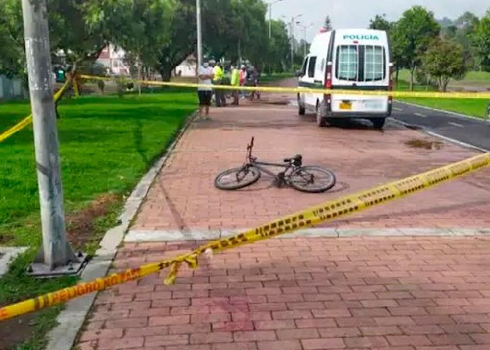 Escena de crimen en ciclorruta en Bogotá : Foto: Suministrada.jpeg