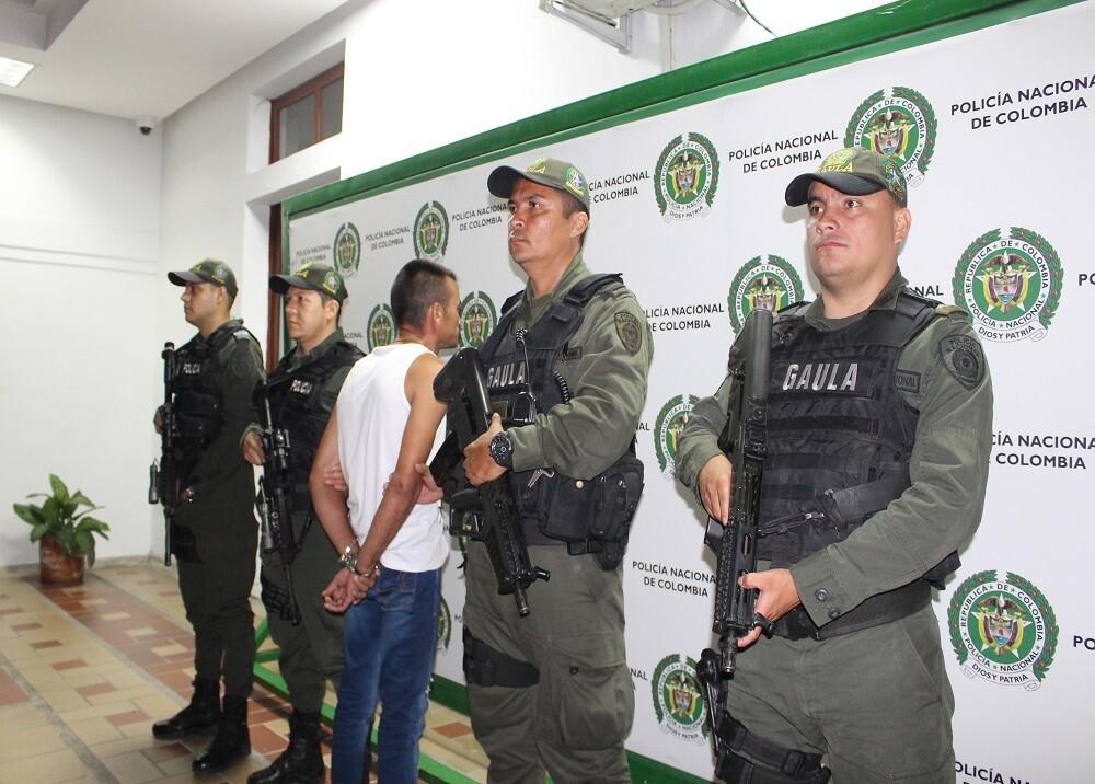 346640_BLU Radio. Captura alias 'Hubert' secuestro comerciantes / Foto. Policía Mebuc