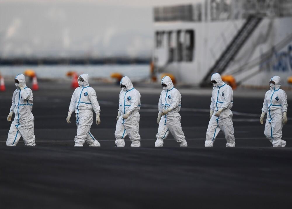 355206_Coronavirus en Japón // Foto: Referencia AFP