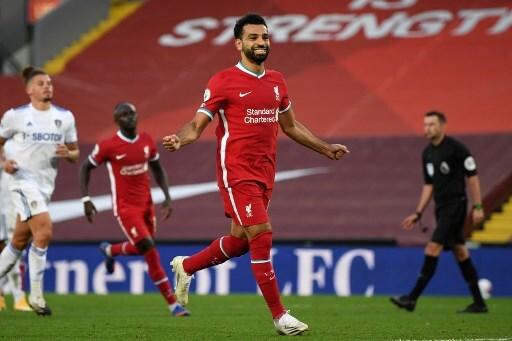 Mohamed Salah LIVERPOOL-LEEDS