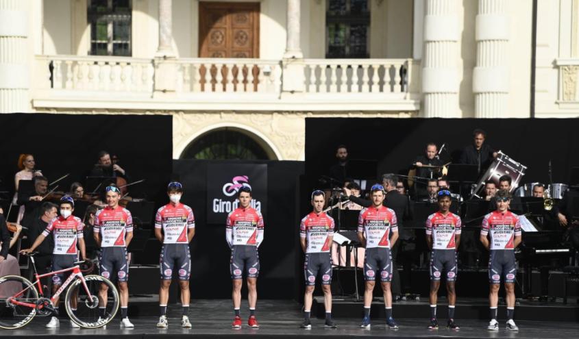 Andrii Ponomar debuta en el Giro de Italia con 18 años.