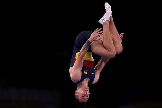 Ángel Hernández, en los Juegos Olímpicos de Tokio 2020