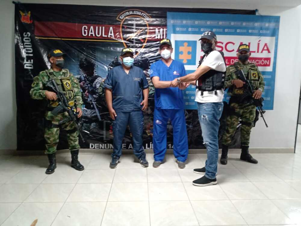 Liberación de médicos en Caucasia, Antioquia..jpeg