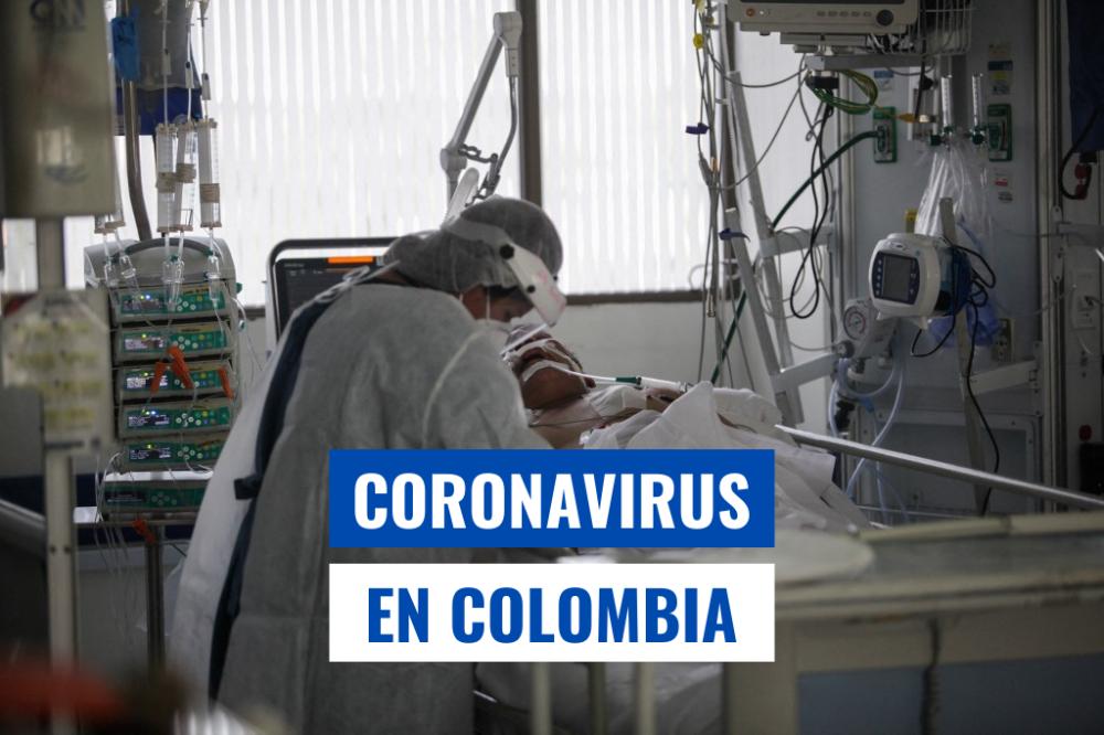 Casos de Coronavirus Colombia Marzo 29 de 2021