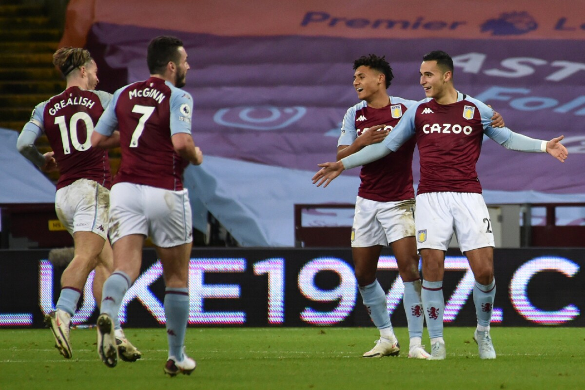 Buen botín para el Aston Villa que se acerca a puestos de Europa: 3-0 sobre Crystal  Palace