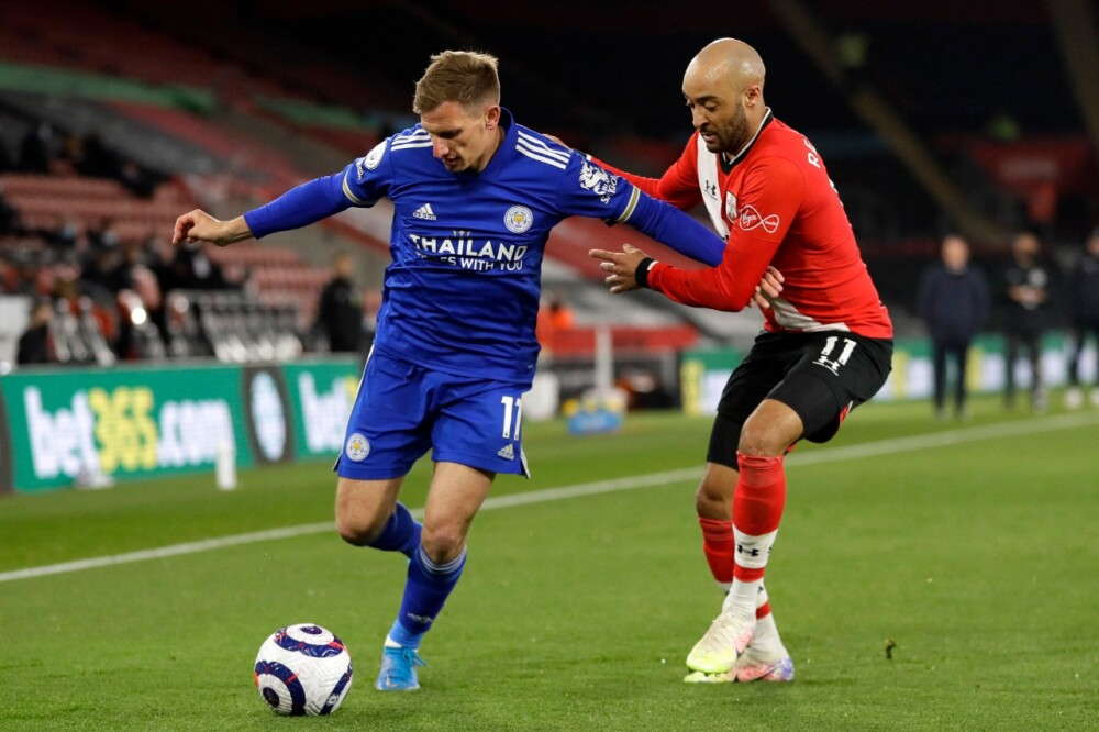 Leicester Southampton AFP.