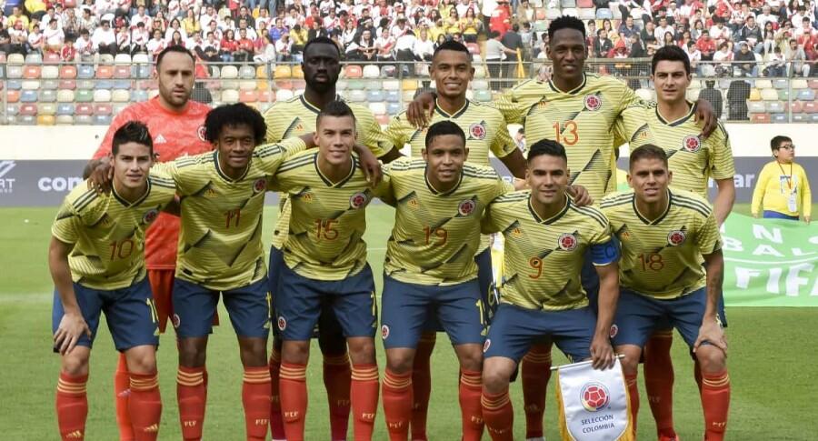 336485_Blu Radio/ Jugadores Selección Colombia. Foto: AFP