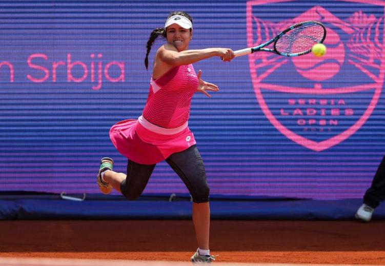 Maria Camila Osorio cayó en semifinales de Belgrado.