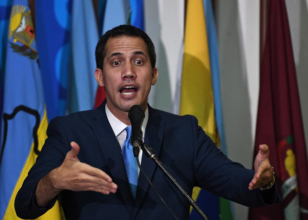 352143_BLU Radio. Juan Guaidó // Foto: AFP