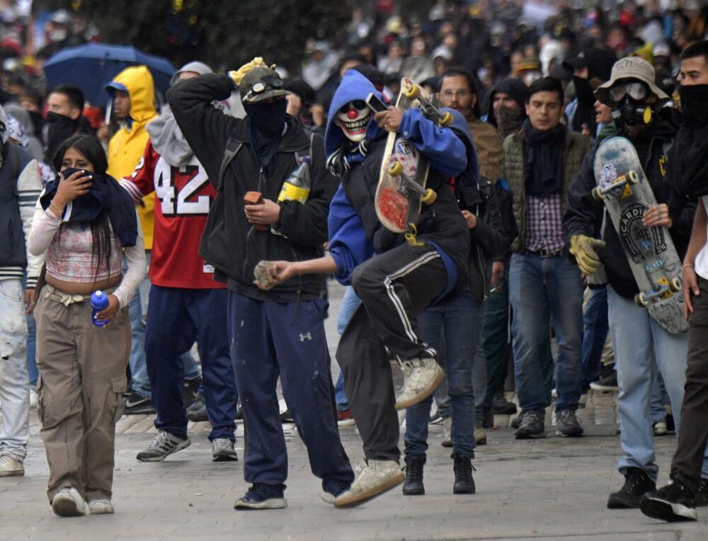 349032_Vandalismo // Foto: AFP