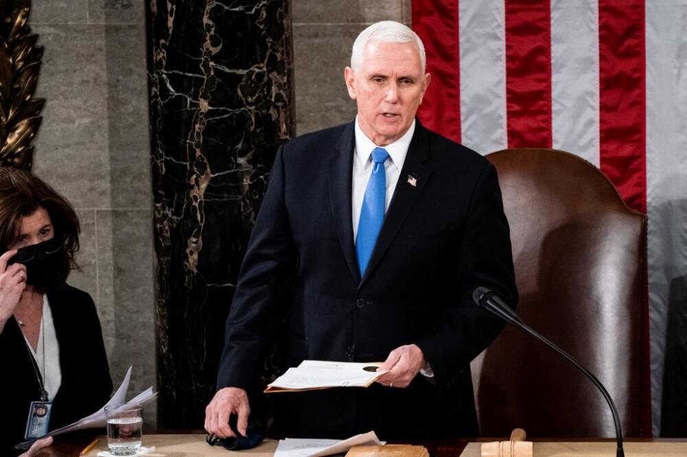 Mike Pence en el Congreso de EE.UU.