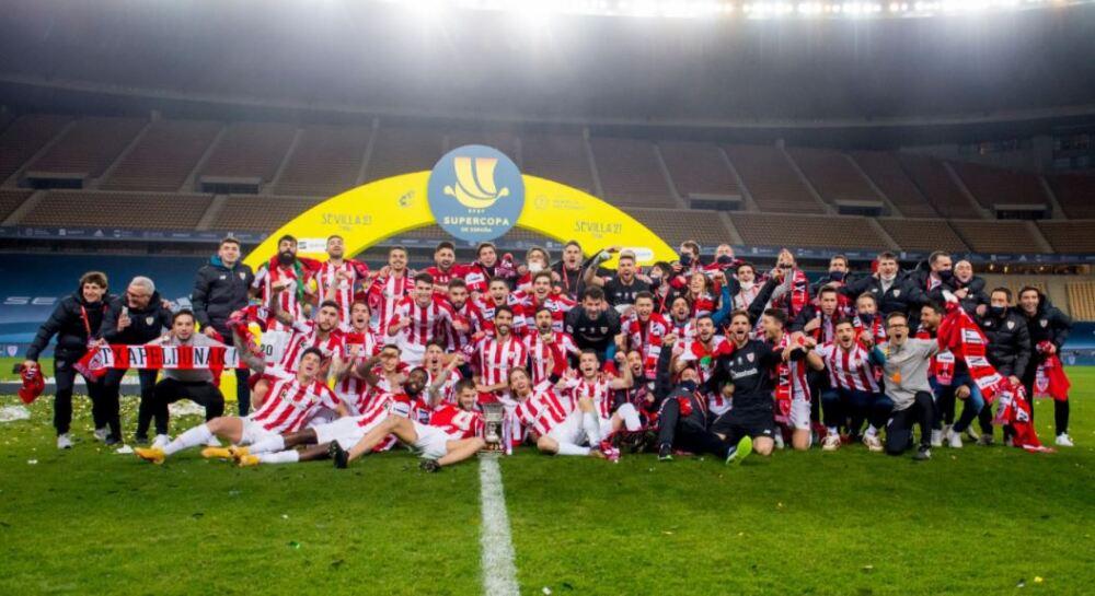 Athletic Bilbao Festeja 180121 Twitter E.JPG