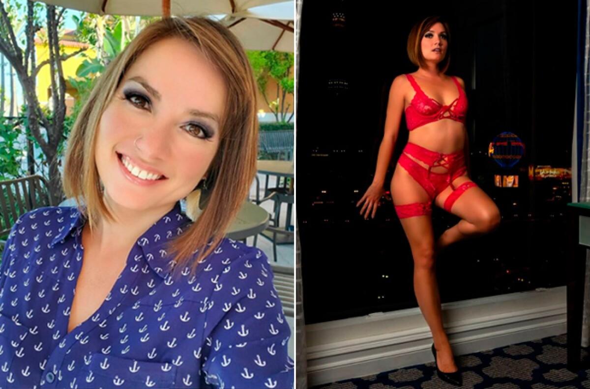 Pastora de iglesia cristiana hace striptease en Onlyfans