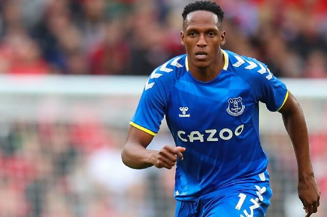 Yerry Mina, en Everton