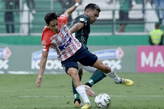 Deportivo Cali contra Junior de Barranquilla, en la Liga colombiana