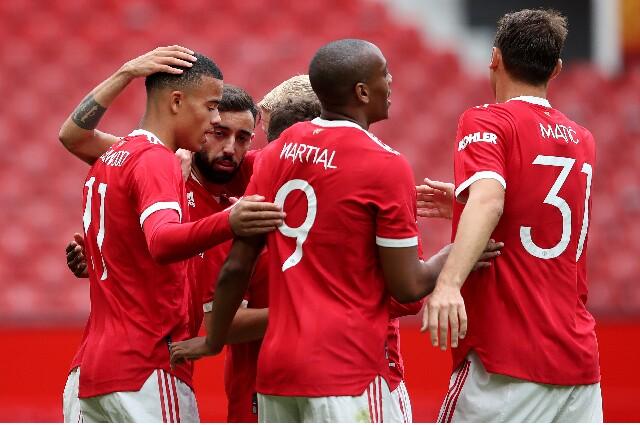 Gol del Manchester United contra Everton