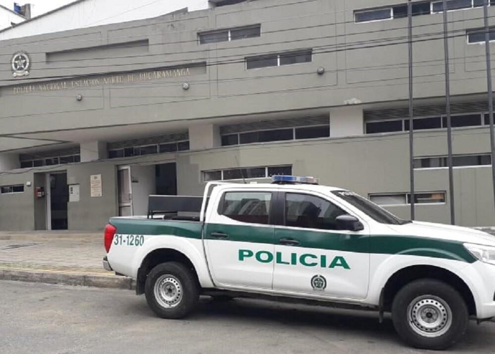 370724_BLU Radio:Estación Policía Bucaramanga / Foto: BLU RADIO