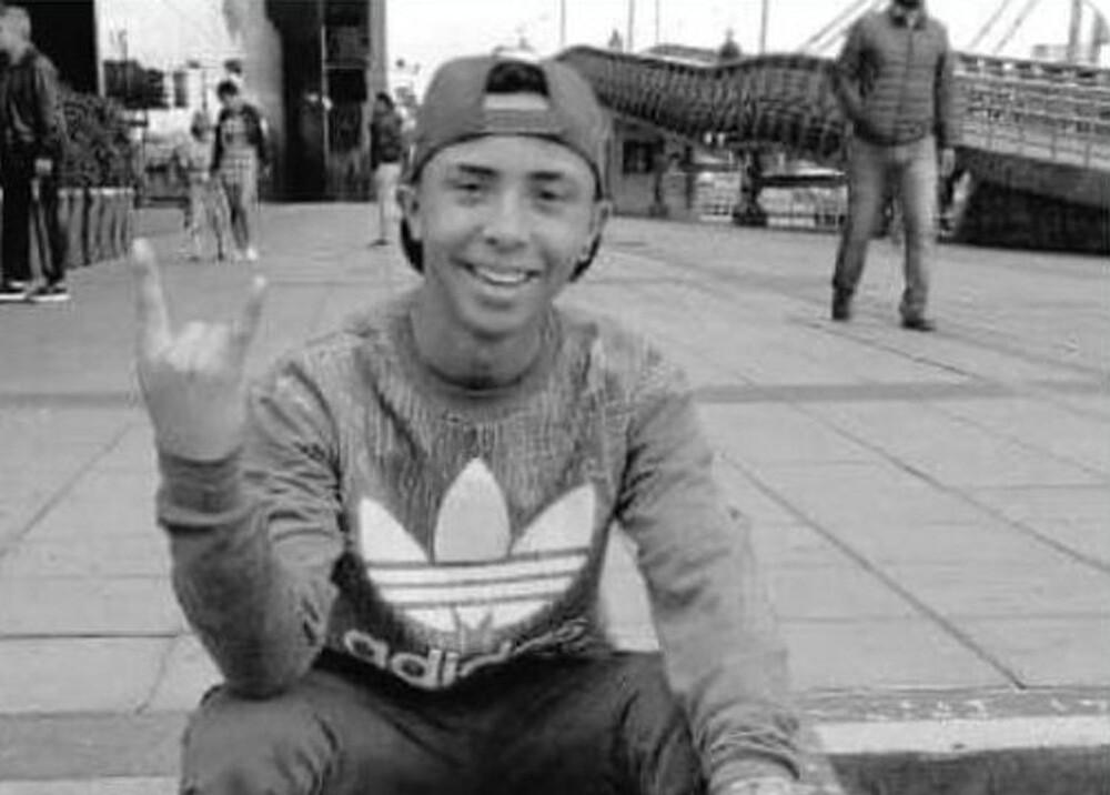Duván Felipe Barros, joven hallado muerto en Bogotá. Foto Twitter Secretaría de Gobierno