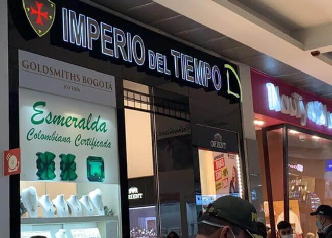 368692_Joyería Imperio del Tiempo. Foto: BLU Radio