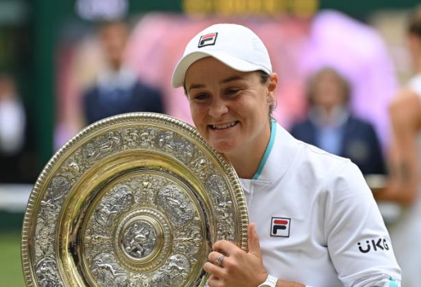 Ashleigh Barty se coronó campeona de Wimbledon.
