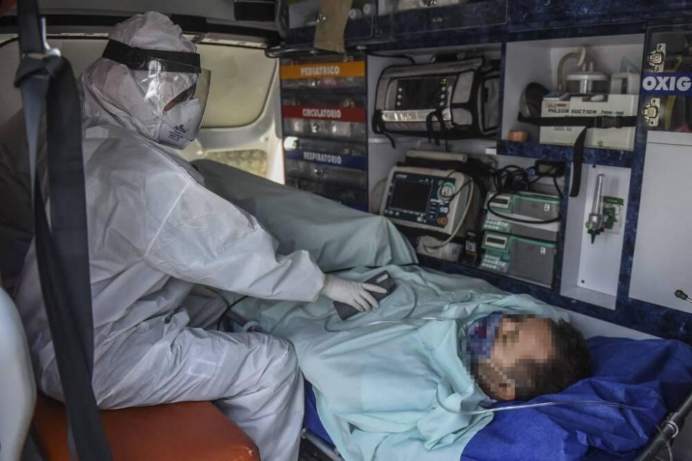 Personal de la salud en la pandemia