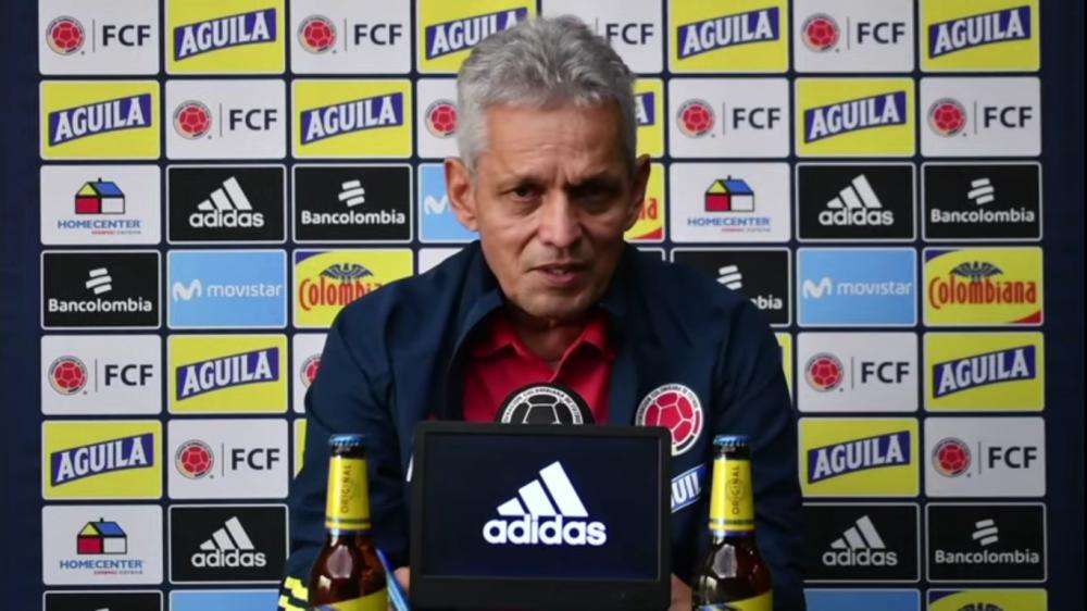 Reinaldo Rueda, director técnico de la Selección Colombia