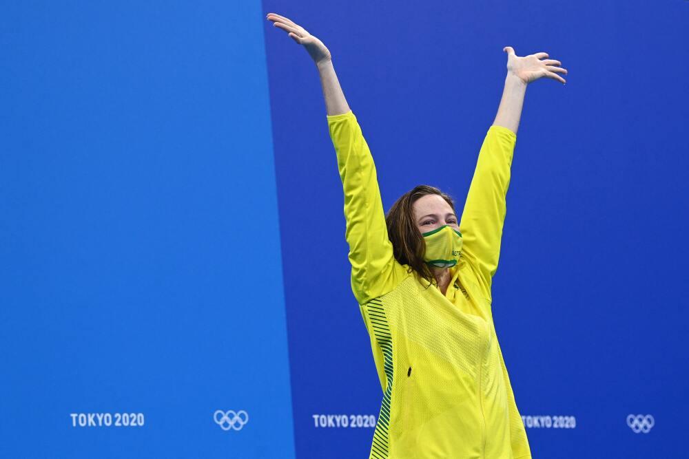 Cate Campbell, campeona de natación en los Juegos Olímpicos Tokio 2020.