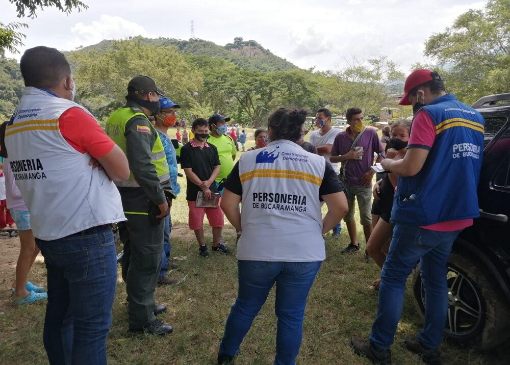 373233_BLU Radio. Elección personero / Foto: Personería de Bucaramanga