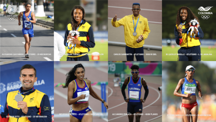 Colombia ya tiene 68 deportistas clasificados a los Juegos Olímpicos de Tokio.