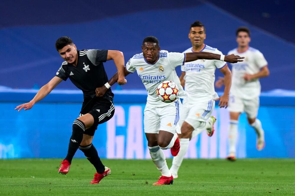 Real Madrid recibió al Sheriff Tiraspol, en Champions League