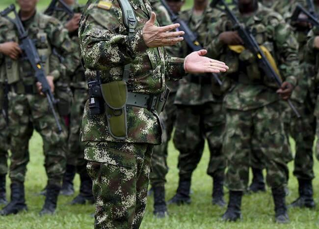 364628_Militares / Foto: Referencia AFP
