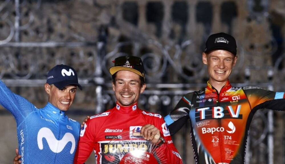 Podio-Vuelta-España