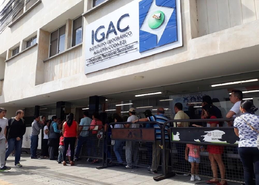 345295_BLU Radio. Instituto Geográfico Agustín Codazzi de Bucaramanga / Foto: Blu Radio