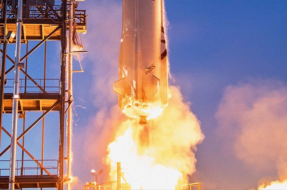 Turismo espacial Blue Origin